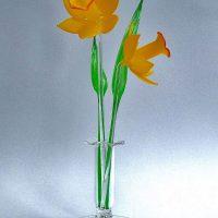 Glassblobbery – Glass Daffodil Set