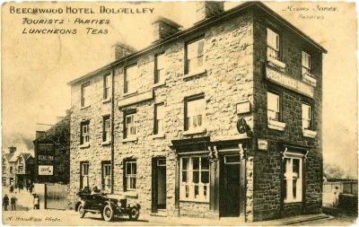 An Edwardian Postcard of the Beechwood Hotel, Dolgellau